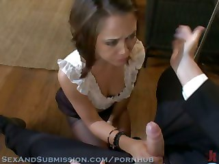 Adulteress Blackmailed And Dominated In Bondage With Anal Sex