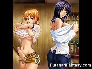 3d Futanari Cum Fantasy!
