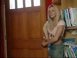 Blonde Takes A Big Dick