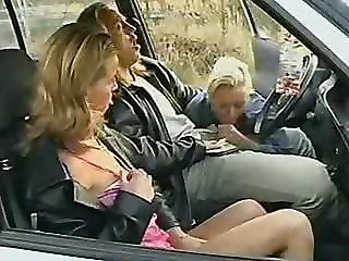 Amateur Car Blowjob