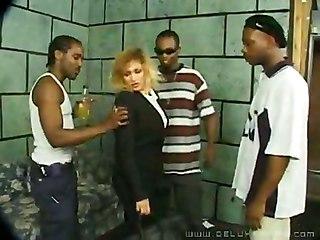 Bbw Black Anal Gang