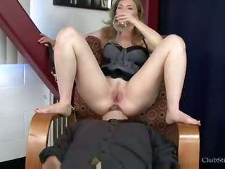 Redhead Mistress Facesitting
