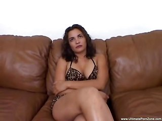 Girl With Nice Natural Tits Taking Black