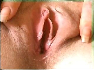 Bottle Into Pussy Hole